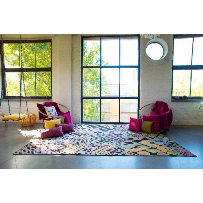 Benedito vastag szürke barna szőnyeg