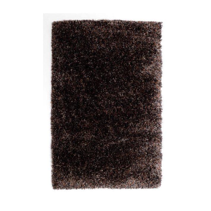 Elis Fekete Shaggy Szőnyeg 133 x 195 cm
