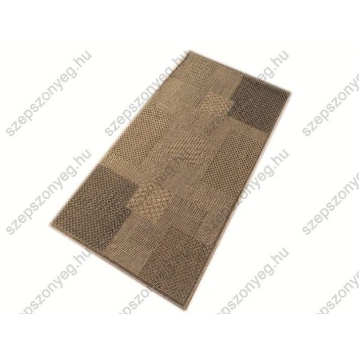 Colora Bézs Barna elegáns szizál Szőnyeg 80 x 150 cm