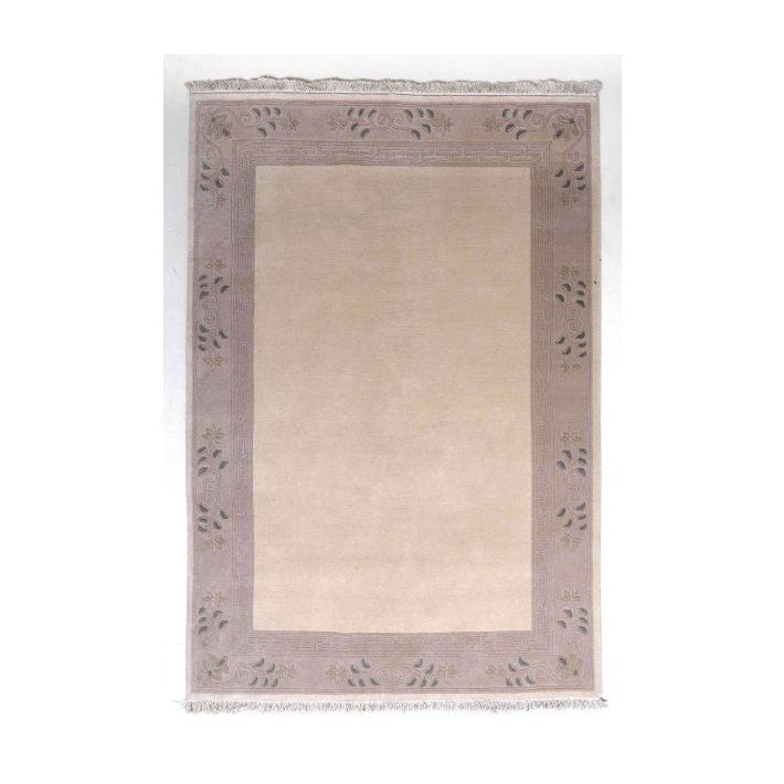 Roxi Klasszikus Krém Bordó szőnyeg 160 x 230 cm