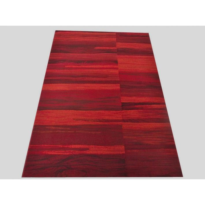 Olívia Vastag Nyírt szőnyeg piros színben 80 x 150 cm
