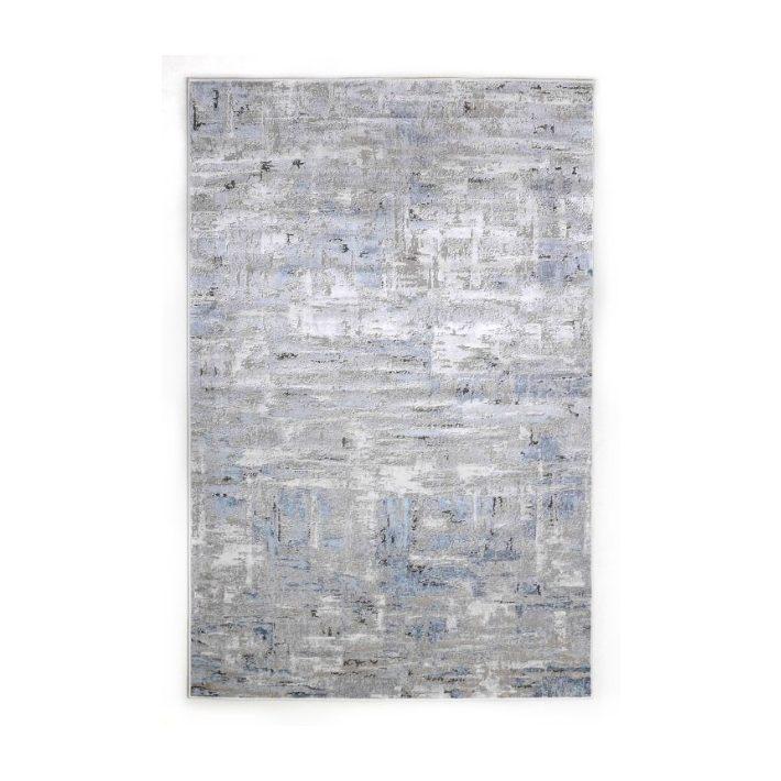 Dores vastag kockás barna szőnyeg