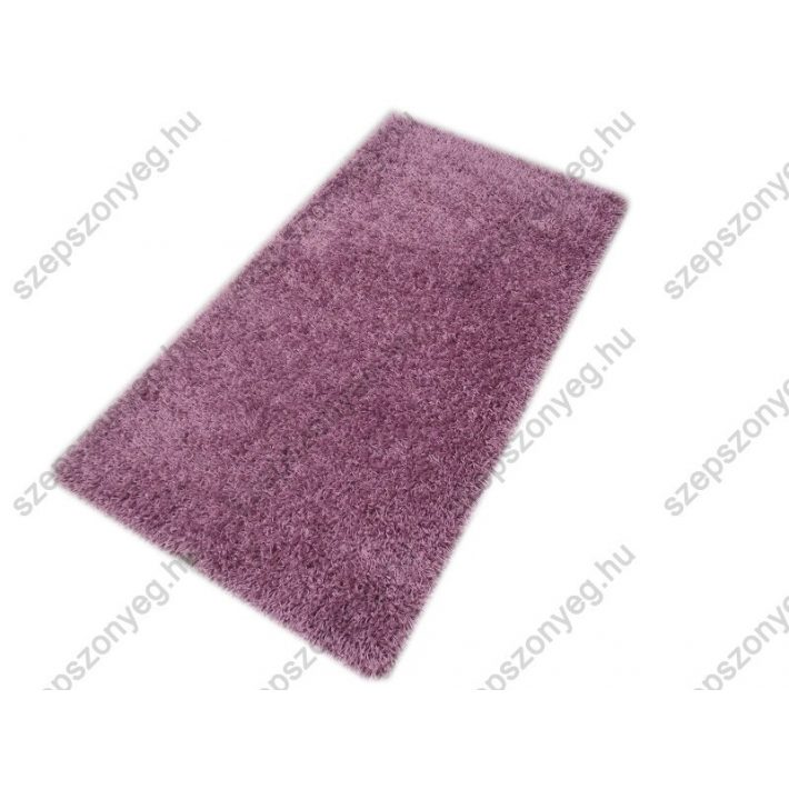 Jácint Minőségi, Vastag, Shaggy szőnyeg halvány lila színben 160 x 230 cm