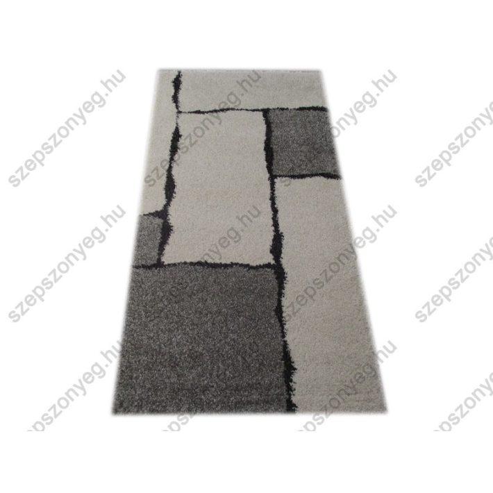 Fátyolka Suba Szőnyeg Szürke Fehér Fekete 200 x 290 cm