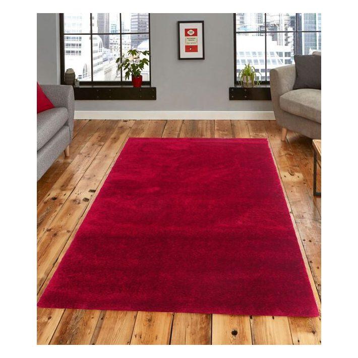 Alina Shaggy Piros szőnyeg 120 x 170 cm