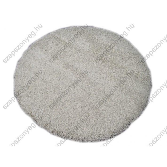 Gerle Oval-Kör alakú Shaggy szőnyeg fehér színben shaggy szőnyeg webáruház