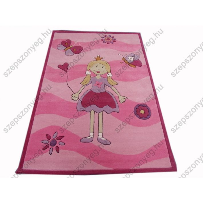 Babika Rózsaszín Gyerekszőnyeg 120 x 180 cm