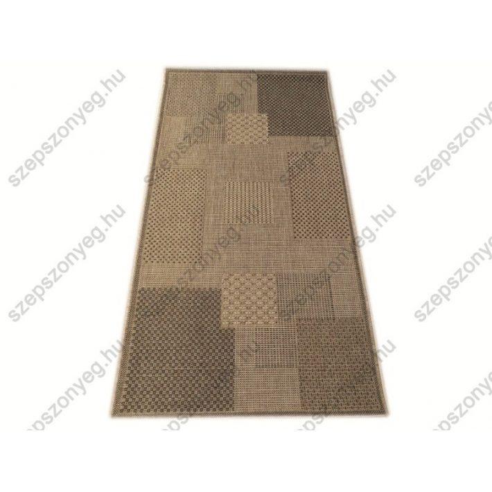 Giolla Bézs Barna elegáns szizál Szőnyeg  80 x 150 cm