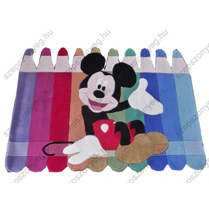 Mickey Egér ceruzái Disney Gyerekszőnyeg Hipoallergén