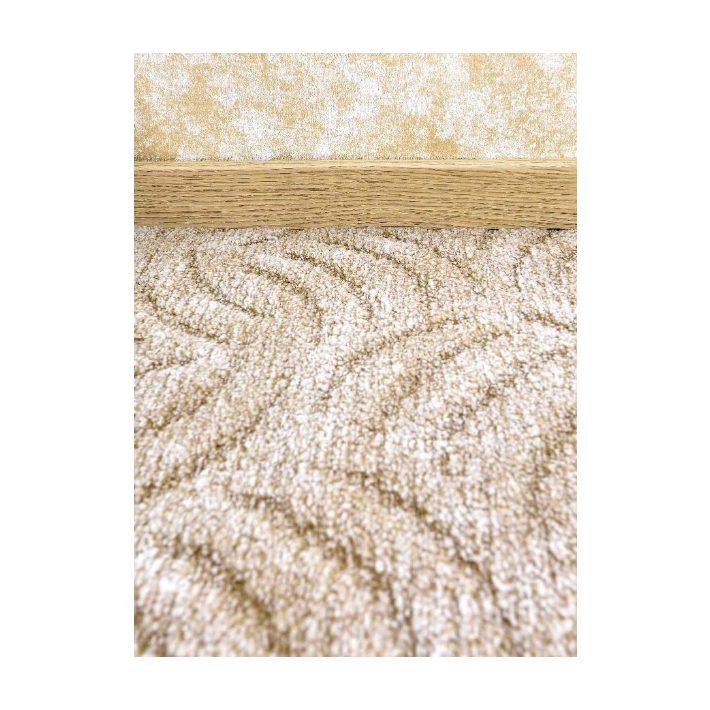 Alinda Nyírt Cser színű padlószőnyeg 4 m széles