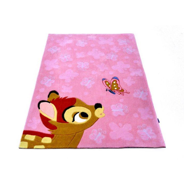 Bambi Rózsaszín Disney Gyerekszőnyeg 50 x 80 cm