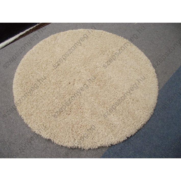 Flavio Krém Oval-Kör Alakú Shaggy szőnyeg  160 cm