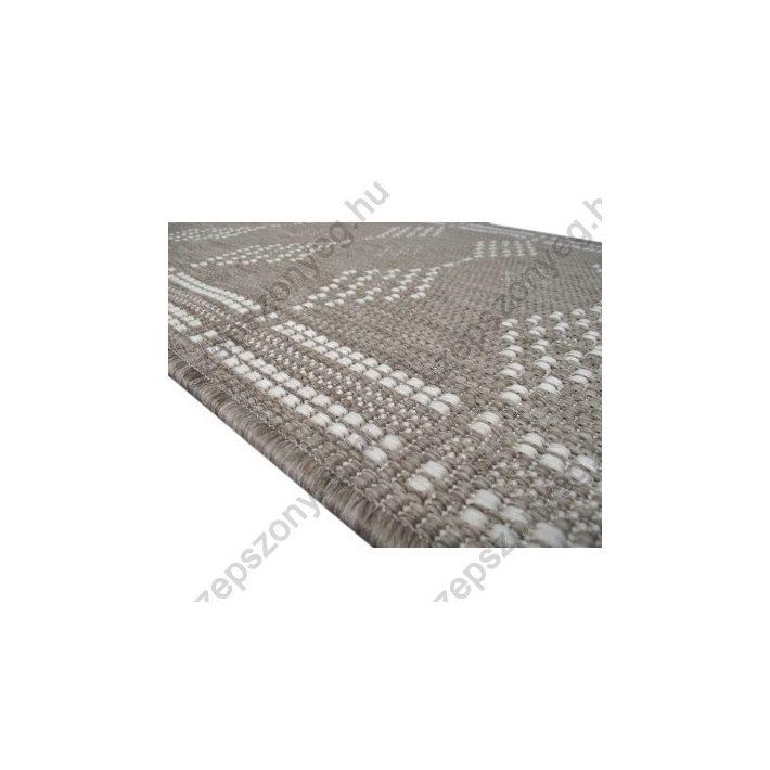 Terry Szizál jellegű Natur Szürke Futószőnyeg 67 cm széles
