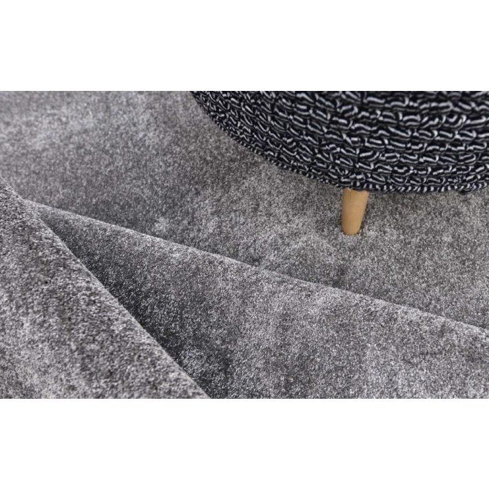 Szirén Antracit szürke Shaggy Padlószőnyeg 4m széles