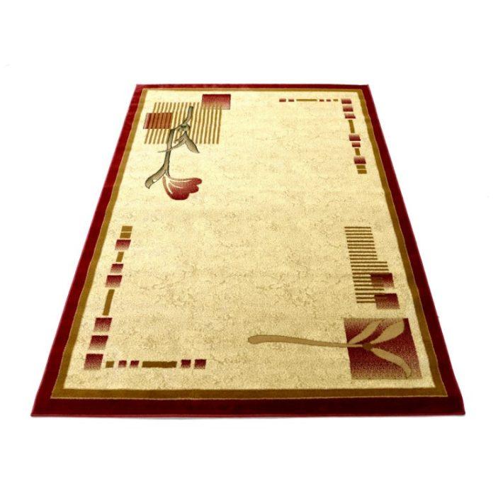 Hajnal virágmintás szőnyeg bézs színben 120 x 170 cm
