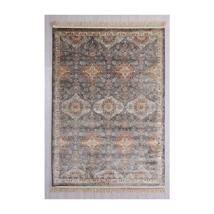 Artenara minőségi klasszikus rojtos szürke terra szőnyeg