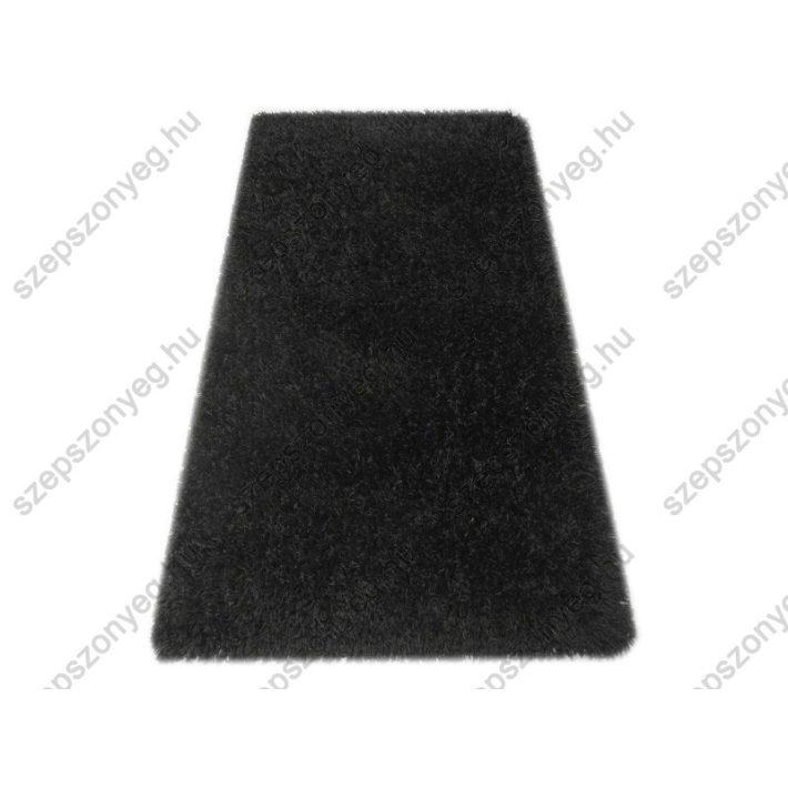 Gertrudis Minőségi, Vastag Shaggy szőnyeg fekete színben 200x290cm