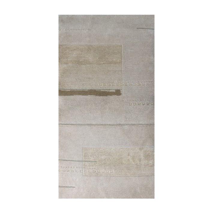 100% Gyapjú Angyal Eredeti Gyapjúszőnyeg fehér 120 x 180 cm