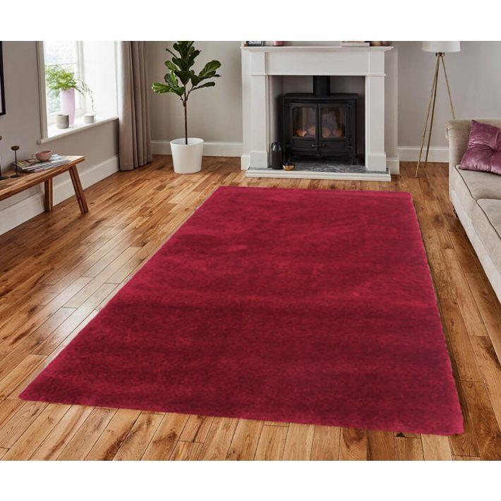 Tamita tégla-bordó shaggy szőnyeg 200 x 290 cm