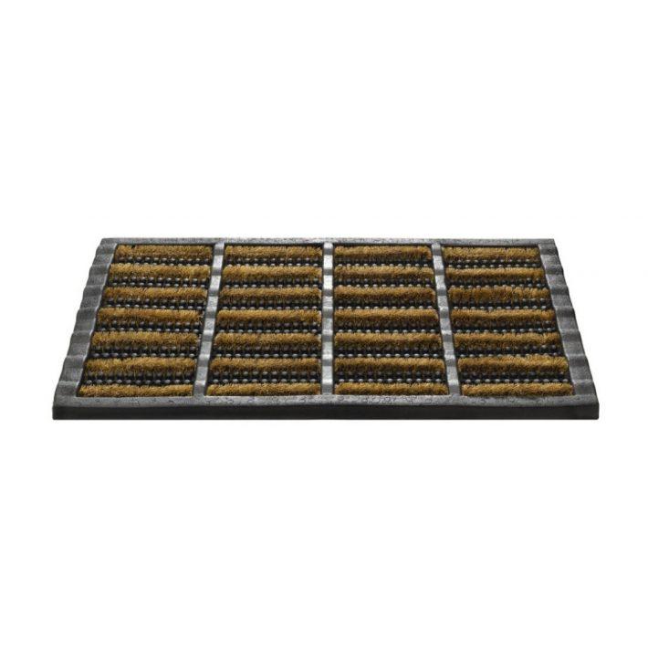 Home Dekor Kókusz lábtörlő fekete-drapp színben 40 x 70 cm