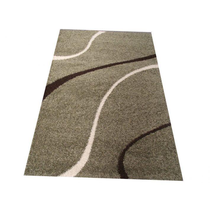 Lysa Minőségi Vastag Suba szőnyeg pasztell zöld színben 80 x 150 cm
