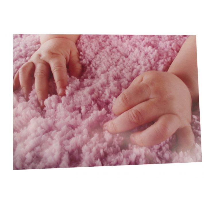 Agnella Rózsaszín Shagg szőnyeg 130 x 190 cm