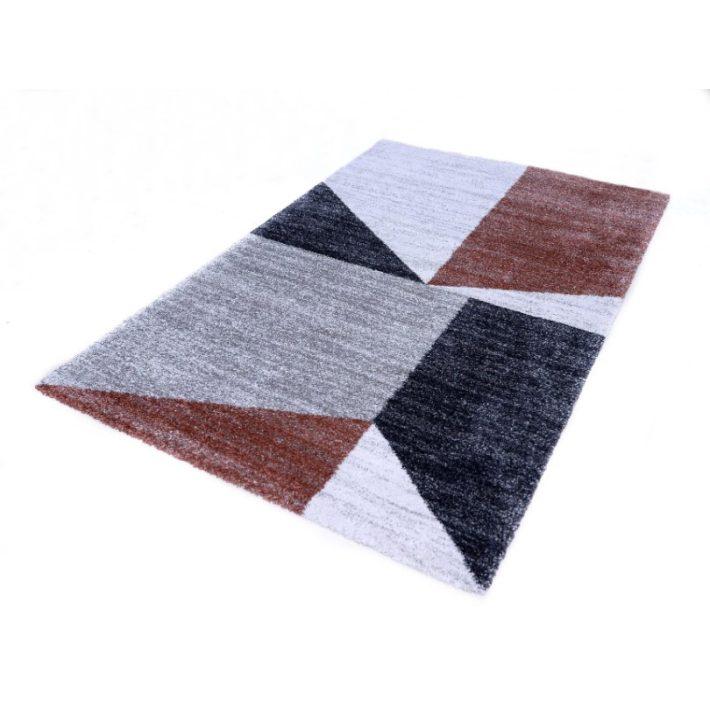 Zoe Modern mintás Nyírt szőnyeg drapp-barna színben 200x290cm