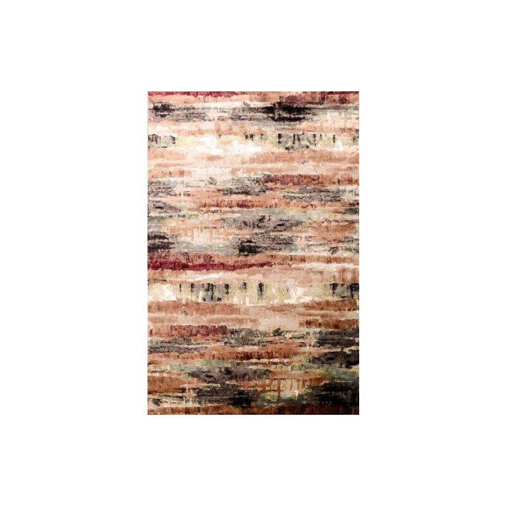 Kalandos modern bordó narancs lila szőnyeg