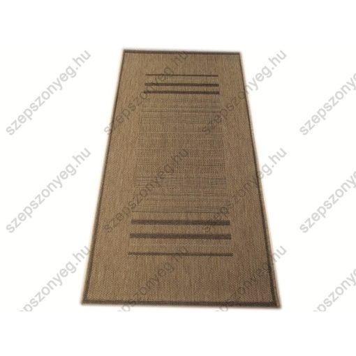 Curtis Szizál jellegű szőnyeg Bézs barna 80 x 150 cm