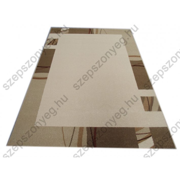 Fagyöngy Modern Vastag nyírt szőnyeg bézs színben 67x140