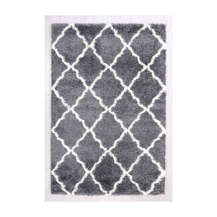 Grado Barna Krém Vastag szőnyeg 160 x 230 cm