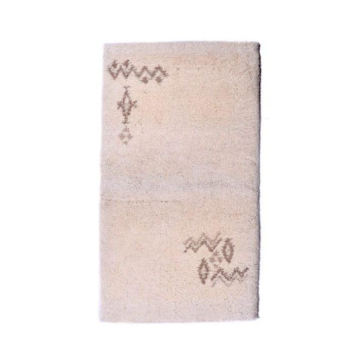 Gertrudis Minőségi, Vastag Shaggy szőnyeg fekete színben 80x150cm shaggy szőnyeg webáruház