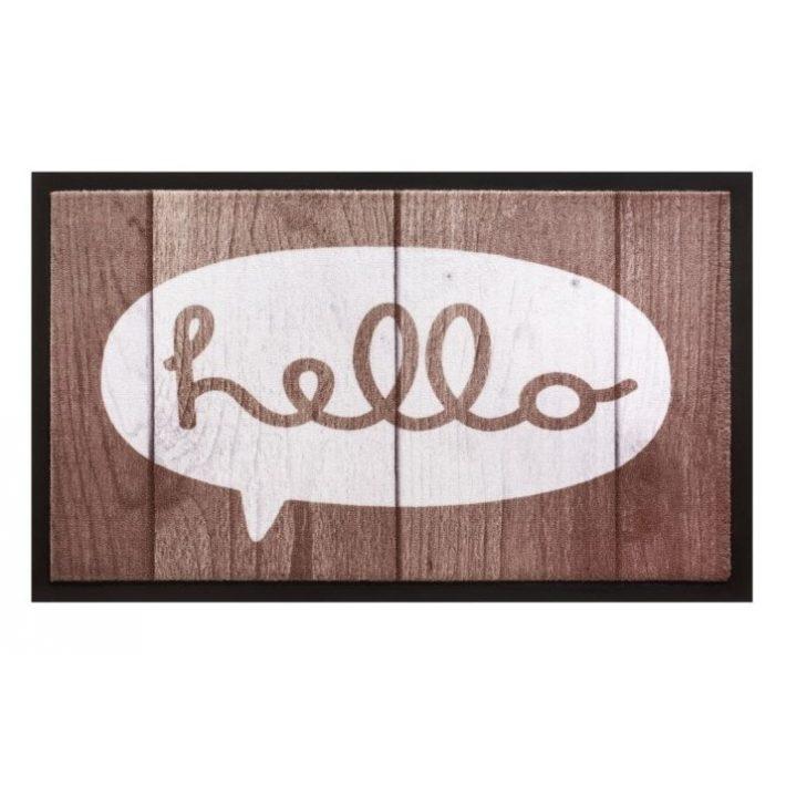 Virágvarázs Kókusz Vidám lábtörlő 40 x 70 cm