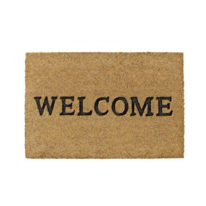 Crocetta Erős Strapabíró Gumis Kőmintás lábtörlő 45 x 75 cm