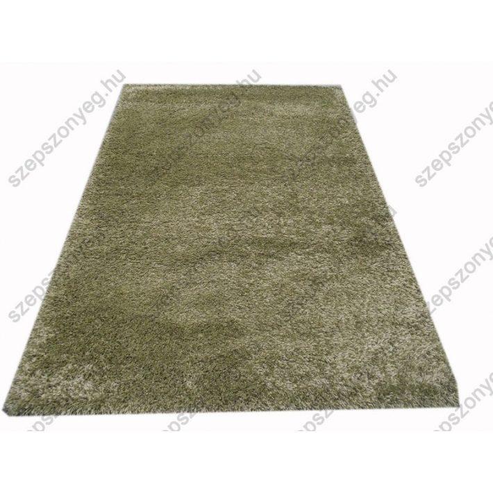 Xana Zöld Minőségi Shaggy Szőnyeg  240 x  340 cm