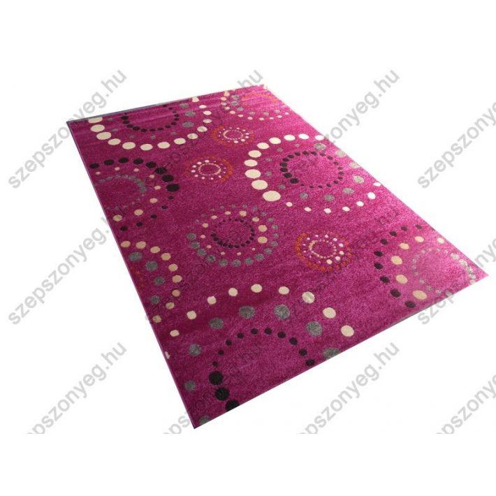 Marilyn Ifjúsági-Kamasz Vastag Nyírt szőnyeg pink színben 160x230cm