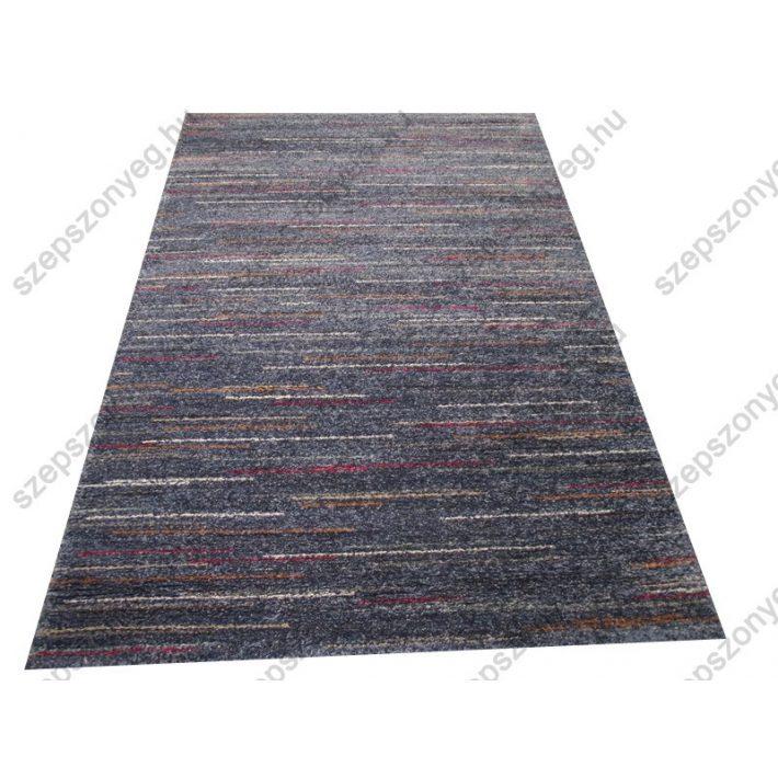 Duarte vastag kék szőnyeg piros sárga csíkkal