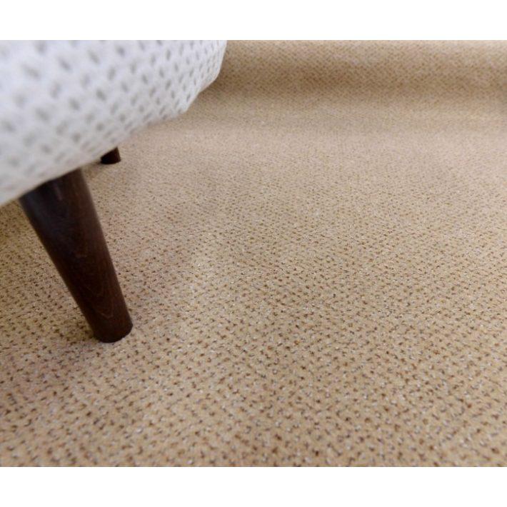 Mimike Buklé padlószőnyeg 4 m széles terra színben