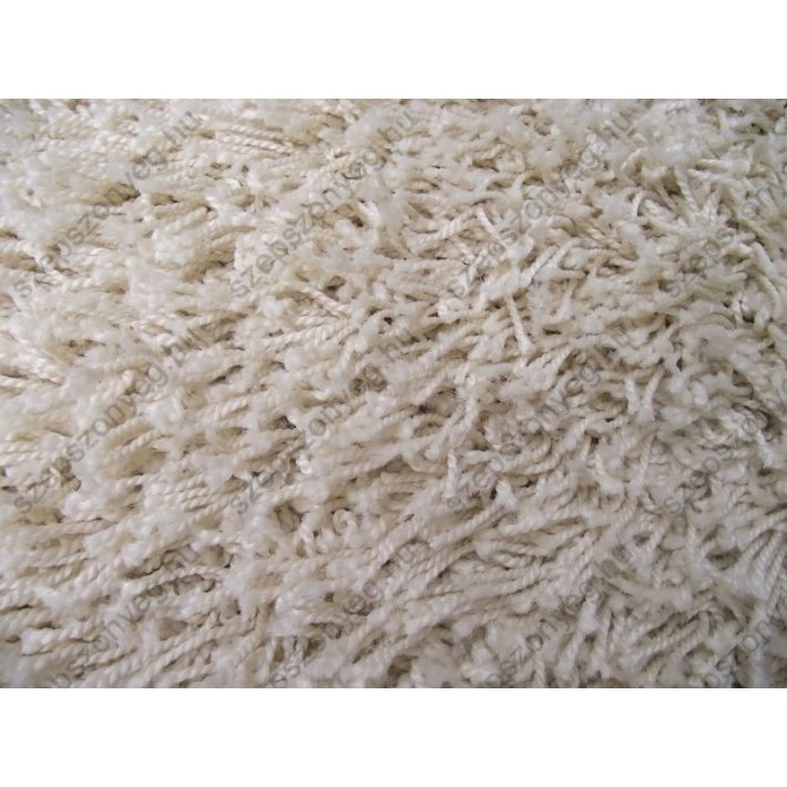 Babett Minőségi Vastag Shaggy szőnyeg krém színben 80x150cm shaggy szőnyeg webáruház
