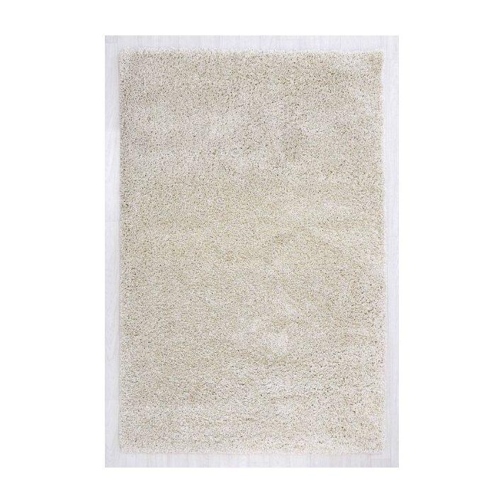 Babett Minőségi Vastag Shaggy szőnyeg krém színben 80 x 150 cm