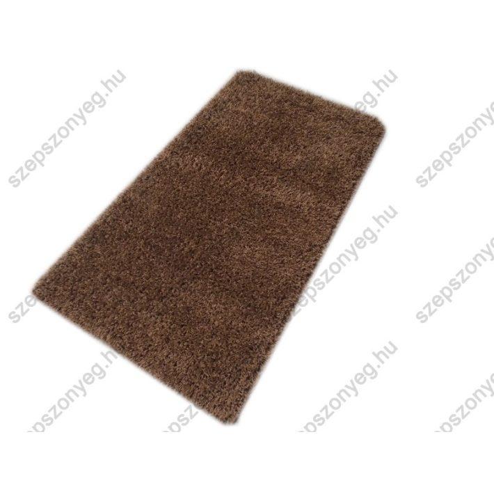 Jónás Minőségi, Vastag, Shaggy szőnyeg barna színben 160x230cm