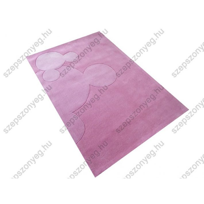 Disney Mickey rózsaszín Gyerekszőnyeg 115x168