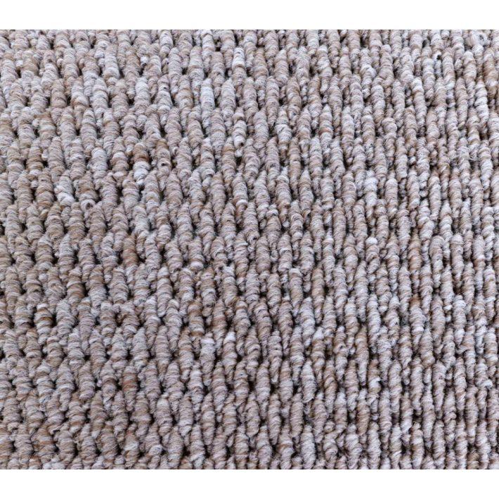 Polly Buklé Modern mintás padlószőnyeg 3m széles lila színben