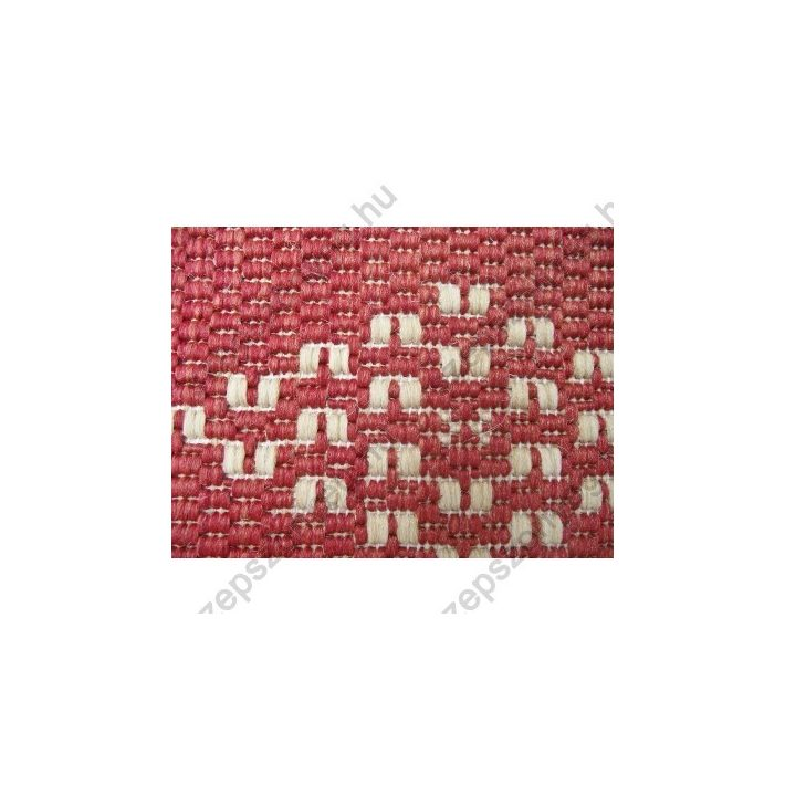 Torres Szizál jellegű Natur Piros Futószőnyeg 67 cm széles
