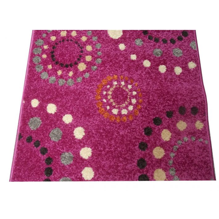 Haiti Pink Rózsaszín Nyírt szőnyeg 67 x 130 cm