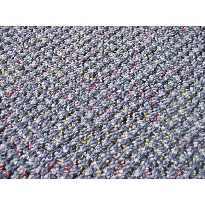 Cher Kék Irodai Padlószőnyeg 4 m széles