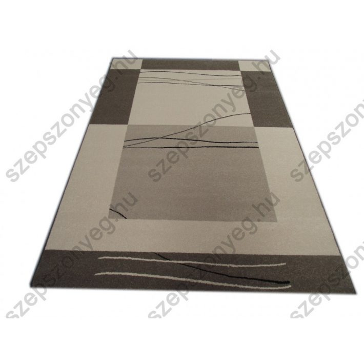 Gerda Modern Vastag Nyírt szőnyeg szürke színben 67x140cm