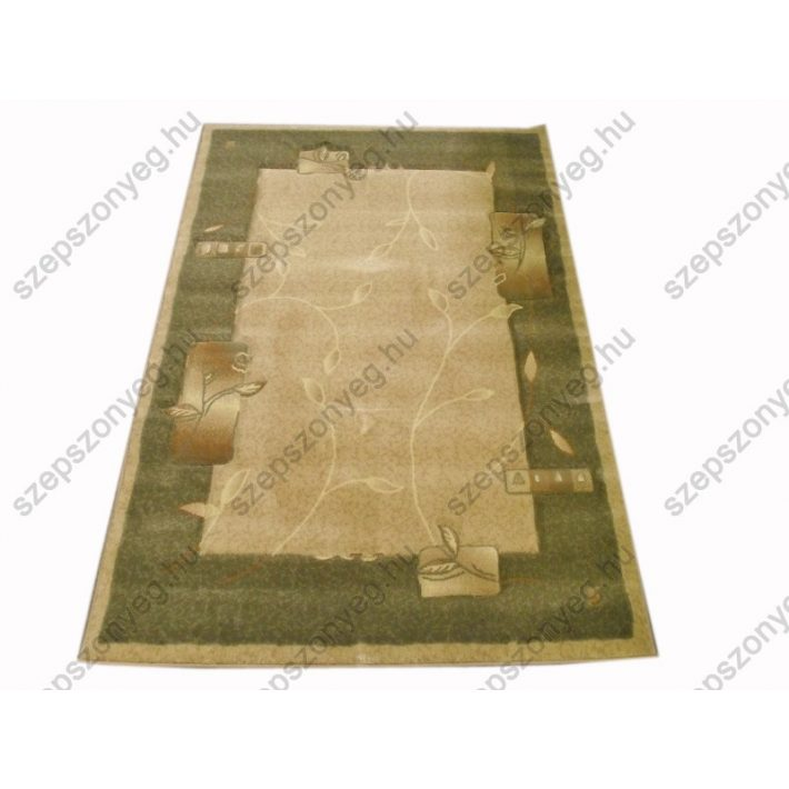Melange Halvány Zöld Drapp Nyírt Szőnyeg 160 x 220 cm