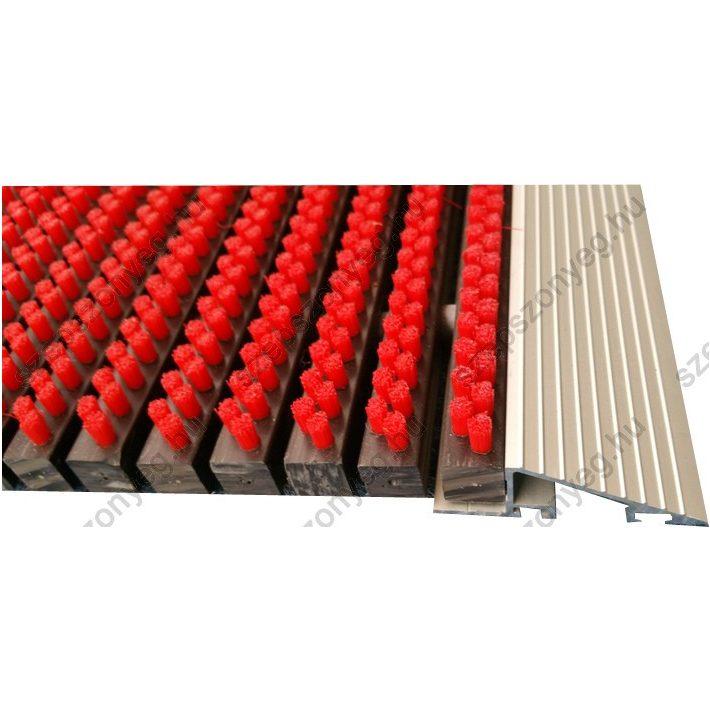 Lunel piros erős strapabíró lábtörlő 50 x 80 cm