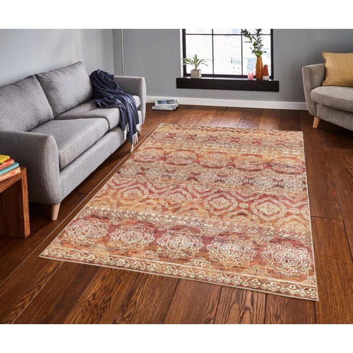 Ejido klasszikus terra narancs szőnyeg